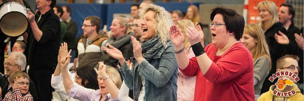 Jederzeit Riesenstimmung in der United-Arena in Hannover - Stöcken