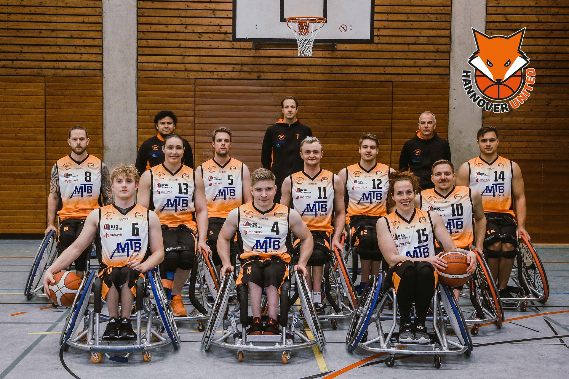 Hannover United Rollstuhlbasketball in der Bundesliga