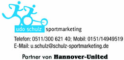 Hannover-United Sponsorenbetreuer